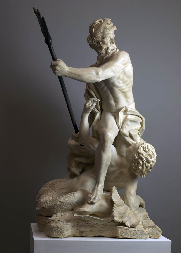 Neptune Calming the Waves - maquette
