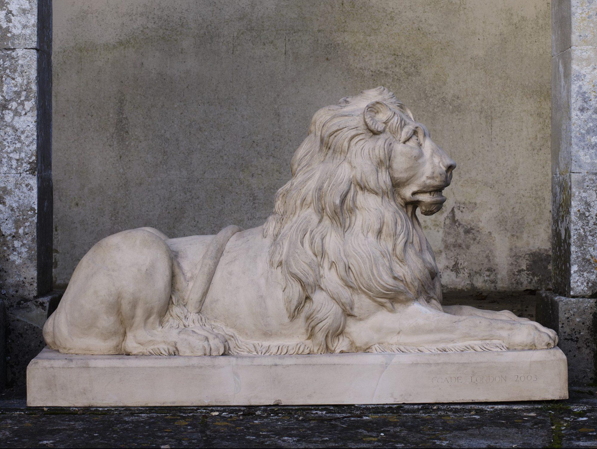 Audley End Lion